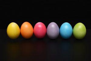æg til påskefrokosten